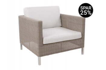 Cane-line Connect Loungestol m/hynder - Taupe