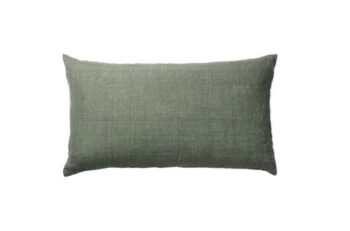 Linen Head Board pude i farven Army fra Cozy Living